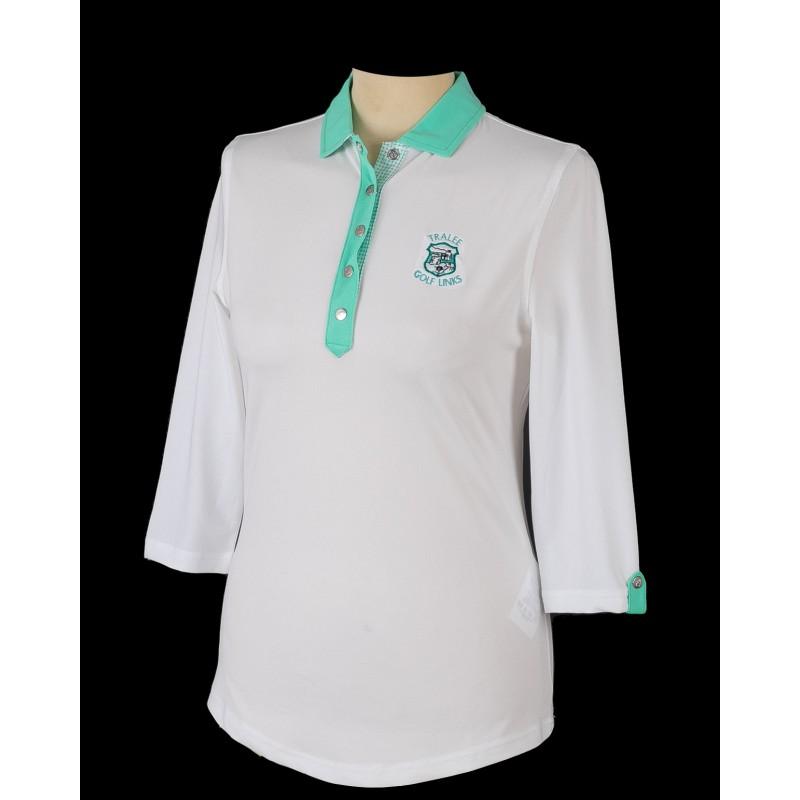 FJ Baby 3/4 Sleeve Contrast Shirt