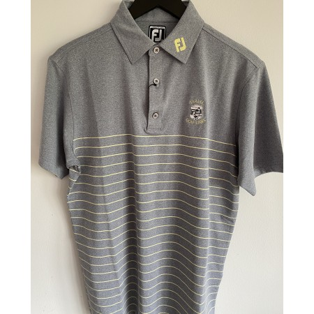 FJ Heather Lisle Pinstripe Polo