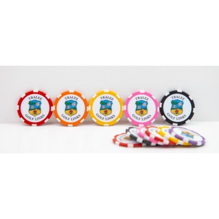 Poker Chip Ball Markers (Pack of 3)