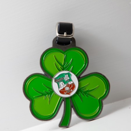 Shamrock Bag Tag