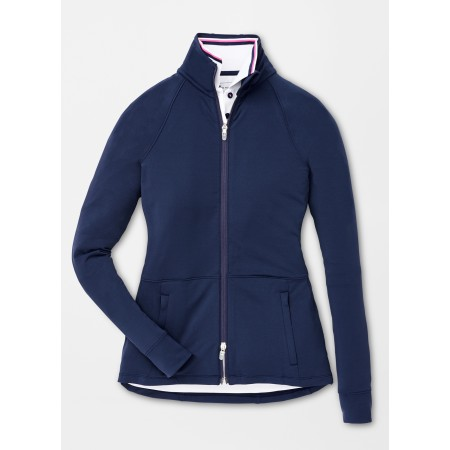 Peter Millar Ladies Full Zip Layer