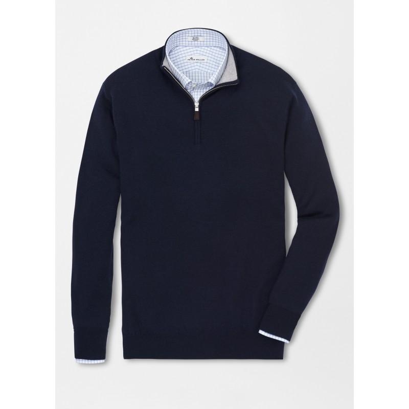 Peter Millar Merino Zip Sweater